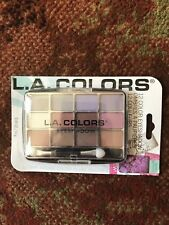 L.A. Colors 12 Color Eyeshadow Palette With Applicator Glamorous BEP422 BNIP