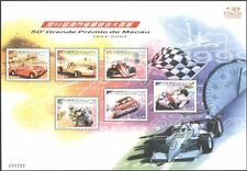 Macau 2003 Motor Racing/Cars/Bike/Motorcycle/F1/GP/Transport/Sport  6v sht s6007