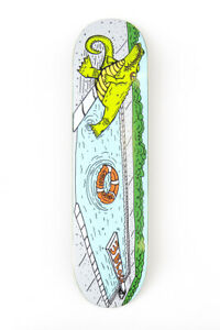 "3Block Skateboards - Carlos Lastra Pool Gator - Skateboard Deck 8.0"" & 8.25"""