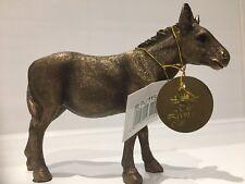 Reflections Bronzed Donkey Mule Gift Figurine Ornament Figure