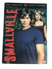 New & Factory Sealed Smallville Fourth Season ~ 6 Dvds ~ Tv Show Superman 4th 4