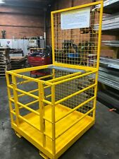 Forklift Safety Cage Man Cage Work Platform In Stock Flat Pack SPECIAL $$699