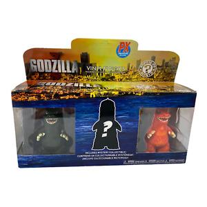 "Funko GODZILLA Mini With Mystery Vinyl Figure 3 Pieces Pack 3"""
