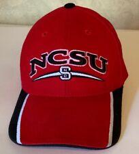 Vintage Starter North Carolina State University Strapback Wolfpack Hat Red