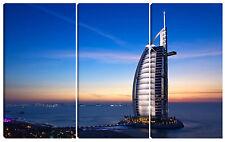 Quadro moderno DUBAI 60X90 abu dhabi arabia saudita  Burj al-Arab hotel Vela