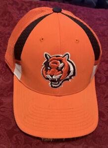 Cincinnati Bengals NFL Onfield Flex Fit Hat, Size S/M, New Without Tags - Nice