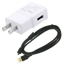 USB DC Charger Data Sync Cable Cord For Panasonic Lumix DMC-ZS30 DMC-TZ40 Camera