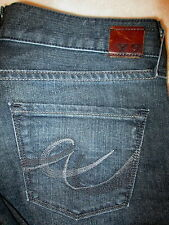 Express W31 Eva Boot Stretch Womens Dark Blue Denim Jeans Size 8 S x 29 Mint