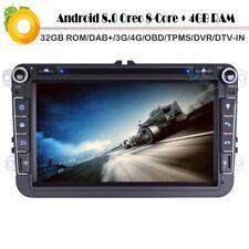 Android 8.0 DAB+Car Radio DVD MP3 Player GPS Sat Nvi für SEAT Altea Leon Toledo