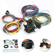 21 Circuit Wiring Harness Car Hot Rod Street Rod Rat Rod Chevy Ford Universal