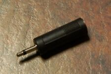 Stereo Jack to Mono Mini Jack Adaptor Plug, NEW