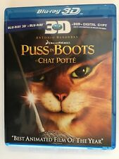 Puss in Boots 3D 2012 Blu-ray 3-Disc Set