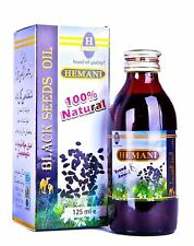 Hemani Black Seed/Cumin/Nigella Sativa Oil 100% Pure Natural Kolanji Oil 125ml