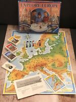 Explore Europe Board Game by Ravensburger Complete 1994 & VGC Free UK P&P