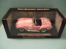 1965 Cobra 427 S/C Pink scale 1/18 Model by Collectibles