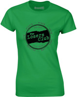 The Losers Club Ladies Casual Printed T-Shirt %100 Cotton Short Sleeve Women Tee
