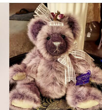 """""""Grapebeary Slush� Bear Doll By Annette Funicello From The Beary Licious Series"""