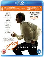 12 YEARS A SLAVE - BLU-RAY - REGION B UK