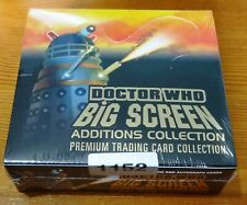 Dr Who 1960's Dalek Movies Big Screen Additions Sealed Mint Box of Cards (2008)
