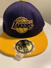 NWT NBA Los Angeles Lakers Grossman Cap RARE Vintage Boys 3-8 Years Hat Snapback