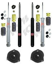 KYB SHOCKS FITS 84-89 NISSAN 300ZX INCLUDING FRONT STRUT MOUNTS & ALL 4 BOOTS