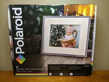 "Polaroid 8"" Digital Picture Frame - Silver Frame - Brand New"