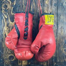 Rare Vintage 1960s Everlast 12oz Boxing Gloves Made in USA
