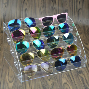 organizador de espejuelos gafas sol lentes esmaltes para hombre mujer acrilico