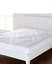 Concierge Collection Double Diamond Mattress Pad, Queen (NEW)