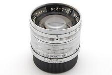 【N MINT+++】Nikon Nikkor S.C 5cm 50mm f/1.4 Leica L L39 LTM From JAPAN