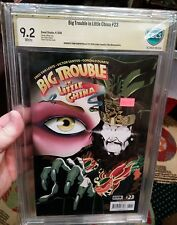 Big Trouble in Little China CBCS 9.2 SS Signed Autographed by John Carpenter cgc