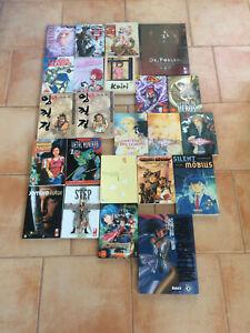 Lot de 23 Manga Divers Grands Formats - Shonen / Seinen / Shojo