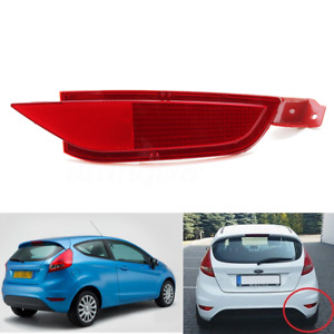 Rear Right RH O/S Bumper Reflector Fog Light Lamp Lens For Ford Fiesta Mk7 08-15