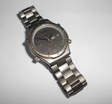 Alter Herren ⌚ SEIKO 7A38-7130 Sports 100 Titanium Chronograph 80er Vintage