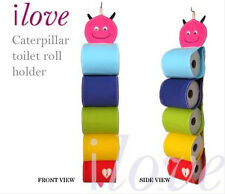 ilove caterpillar toilet roll hanging holder