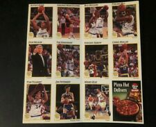 1992 Pizza Hut GOLDEN STATE WARRIORS Trading Cards NBA Team Set Chris Mullin