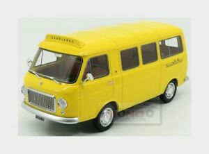 Fiat 238 1S Minibus Scuolabus 1967 (Taxi) Yellow LAUDORACING 1:18 LM121A