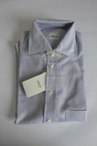 New Armani Collezioni luxury made in Italy dress shirt