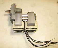 """New Brevel Reversible Gear Reduction Motor 120 Volt - Shaft  is 3/8"""""""