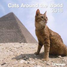 CALENDRIER 2018 - CATS AROUND THE WORLD - 30 x 30 cm
