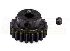 INTEGY RC C23174 Billet Steel Pinion Gear 20T 1M/5mm Shaft for 1/8 & Savage Flux