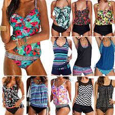 Women's Tankini Bikini Sets Ladies Push up Swimsuit Bathing Suit Beach Swimwear
