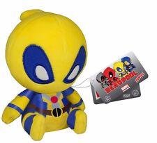 Funko Mopeez Marvel Yellow Deadpool Plush