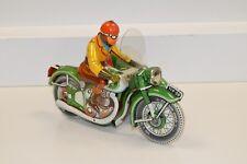 32351061 Tippco TCO 59 grünes Motorradgespann US Zone Germany Selten