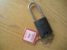 RARE Vintage BEST LOCK  Padlock LILLY w/ KEY