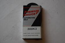 Premium Choice Serpentine Drive Belt 300K3