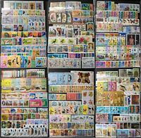 WORLDWIDE stamp collection MNH (30 countries)  + FULL SETS + ALL DIFFERENT
