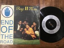 VINYL RECORD SINGLE VINTAGE RETRO 45 SOUL BOYS II MEN END OF THE ROAD PICTURE