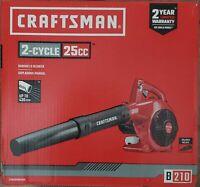 Craftsman B210 25CC 2-Cycle 200-MPH 430CFM Handheld Gas Leaf Blower New!