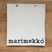 VTG MARIMEKKO Catalog 1970s? Fabric Finland Graphic Colorful Unikko Lokki Tuuli